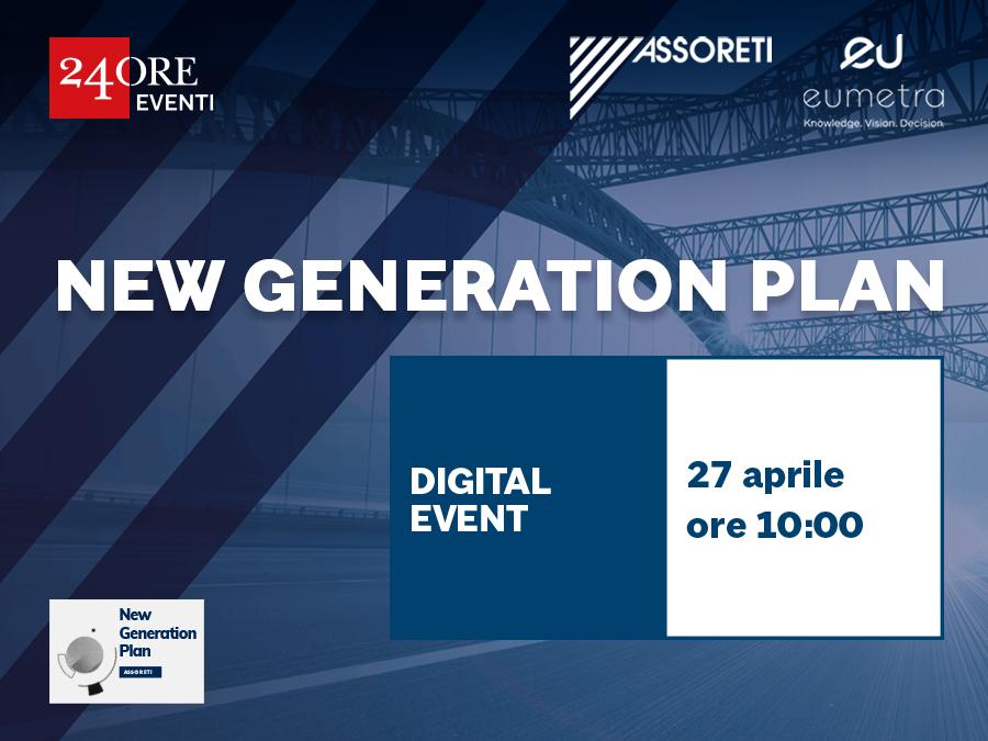 WEBINAR – New Generation Plan – 27 aprile 2021