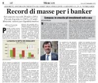 Assoreti, ancora in crescita gli asset dei consulenti: a giugno +21,2% a 745 miliardi. Record di masse per i banker.